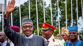 Buhari returns from U.K. vacation, promises to jail treasury looters