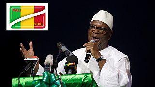 Mali: Ibrahim Boubacar Keïta officiellement réélu président de la République