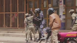 Ugandan police arrest 45 people as they disperse protesters demanding lawmakers' release