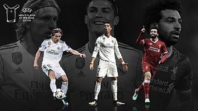 Ronaldo, Modric et Salah dans la dernière ligne droite du joueur UEFA