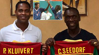Seedorf, Kluivert unveil their maiden Cameroon squad