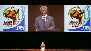 The Kofi Annan effect [2]: Football world awards gold to its 'friend'