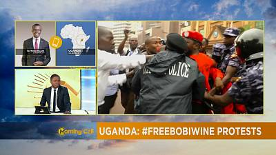 Uganda's #Freebobwine protests dispersed by police [The Morning Call]