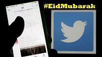 #EidMubarak trends worldwide as Twitter felicitates with Muslims