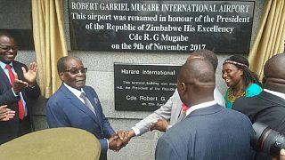 Zimbabwe war veterans want Mugabe's name off main airport