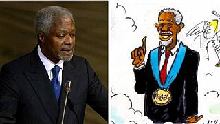 The Kofi Annan effect: Cartoonists worldwide celebrate a keen 'patron'
