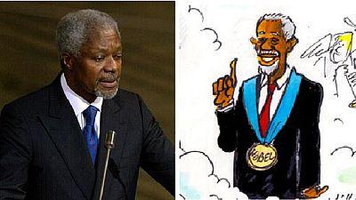 The Kofi Annan effect: Cartoonists worldwide celebrate a keen 'patron'