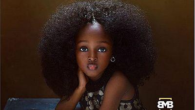 """Cette Nigériane est considérée comme la """"plus belle petite fille"""" au monde"""