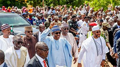 Photos: Buhari tells Nigerians to 'rise above personal' interest in Eid-ul Adha message