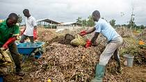 'Trash is gold' as Benin community turns waste into biogas
