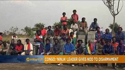 Congo's former rebel leader Pastor Ntumi surrenders arms [The Morning Call]