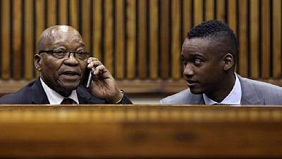 Zumas on trial: South Africa's ex-president attends son's homicide hearing