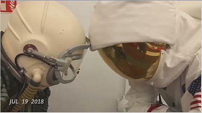 Un Égyptien veut être le premier à aller dans l'espace