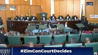 Zimbabwe top court dismisses opposition poll petition