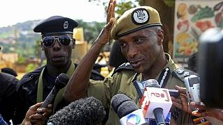 Uganda's ex-police boss Kayihura charged with arming criminal gangs
