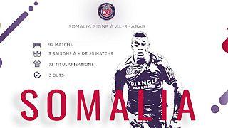Social media users stunned as Somália joins al-Shabab football club