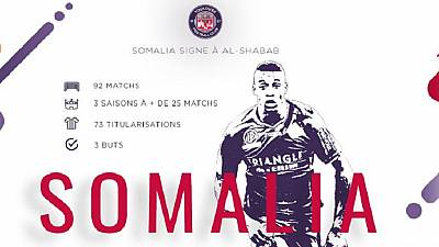 Social media users stunned as Somália joins al-Shabab football club