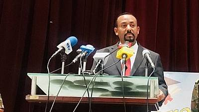 Ethiopia PM holds first media interaction since taking office