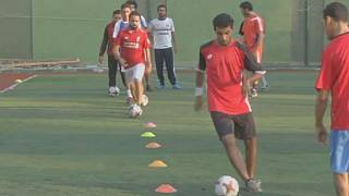 Egypt's first football team with cerebral palsy
