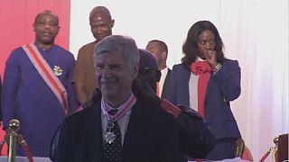 Liberia : Wenger et Le Roy honorés par George Weah