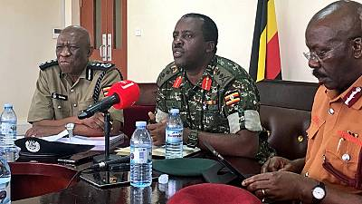 Uganda security chiefs seek public trust, warn social media instigators