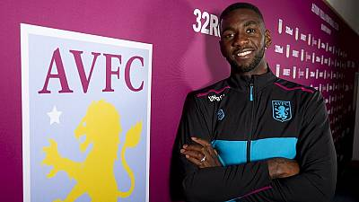Everton's Yannick Bolasie joins Aston villa on loan