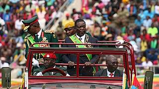 Mnangagwa urges unity in inauguration speech