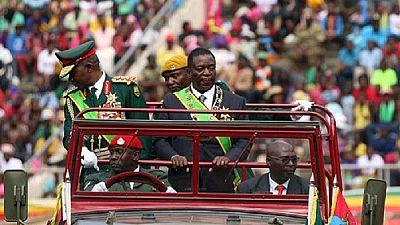 Mnangagwa urges unity in inauguration speech