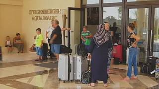Egypt: holiday makers return to hotel where Brit couple died