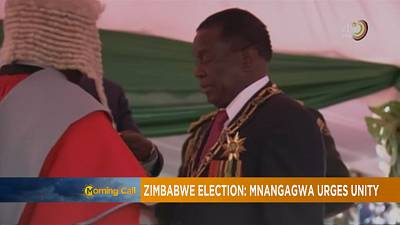 Zimbabwe's Emmerson Mnangagwa begins five year term [The Morning Call]