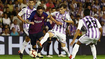 Liga : enquête après le match Barcelone - Valladolid