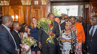 Uhuru Kenyatta et Donald Trump se rencontrent ce lundi ... en 20 minutes