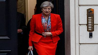 May kicks off first Africa tour as British PM