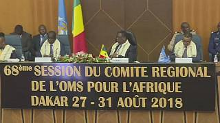 68th W.H.O Regional Committe meeting opens in Dakar