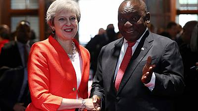 Video: Theresa May dances in South Africa, says UK supports land reform