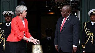 Afrique du Sud : Theresa May apporte son soutien à la réforme agraire