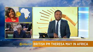 Theresa May begins her visit to Africa [The Morning Call]