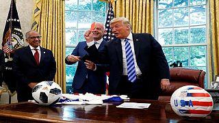 Mondial 2026 : le carton rouge de Trump à la presse