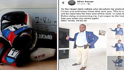 Zambian mayor vows to protect himself with guns and boxing skills