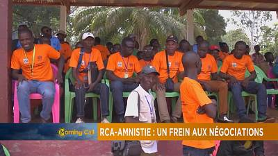 CAR: government rejects amnesty for ex-rebels [The Morning Call]
