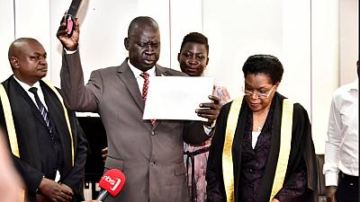 Uganda MP facing treason charges over Arua chaos sworn-in