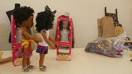 South African doll promotes positive self-image for black girls [No Comment]
