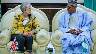 Photos: Buhari pledges credible 2019 elections to visiting UK prime minister