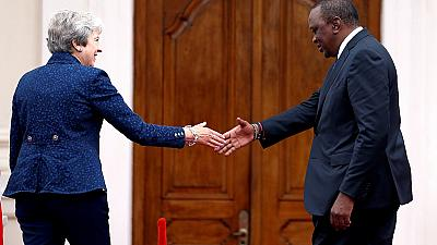 Theresa May in Kenya: More dancing, a bicycle politician and more deals