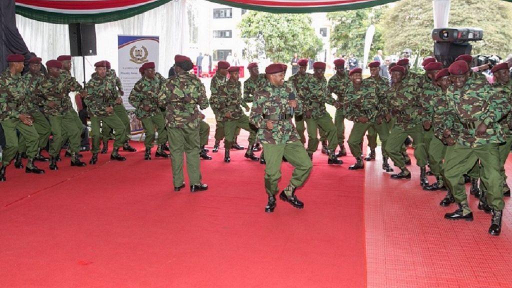 Photos: Kenya's new police uniform to make officers 'more visible