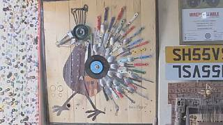 Kenya artist gives life to scrap objects