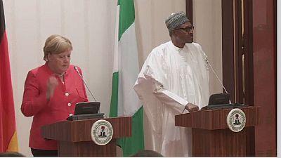 Nigeria : Merkel appelle à une présidentielle crédible