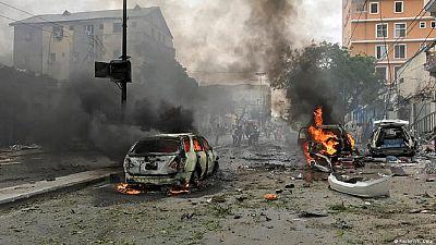 Huge blast in Mogadishu kills at least 5, injures dozens