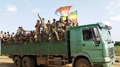 Ethiopia's ex-rebel group Ginbot 7 returns from Eritrea base