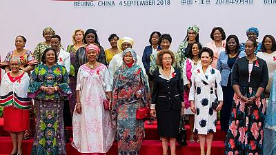 Photos: African First Ladies talk AIDS at 2018 China-Africa summit